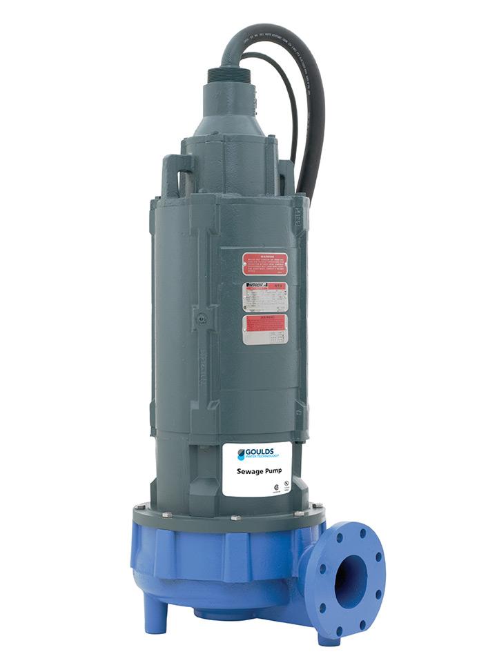 Goulds 4ns 4 Non Clog Submersible Sewage Pump Md Pumps
