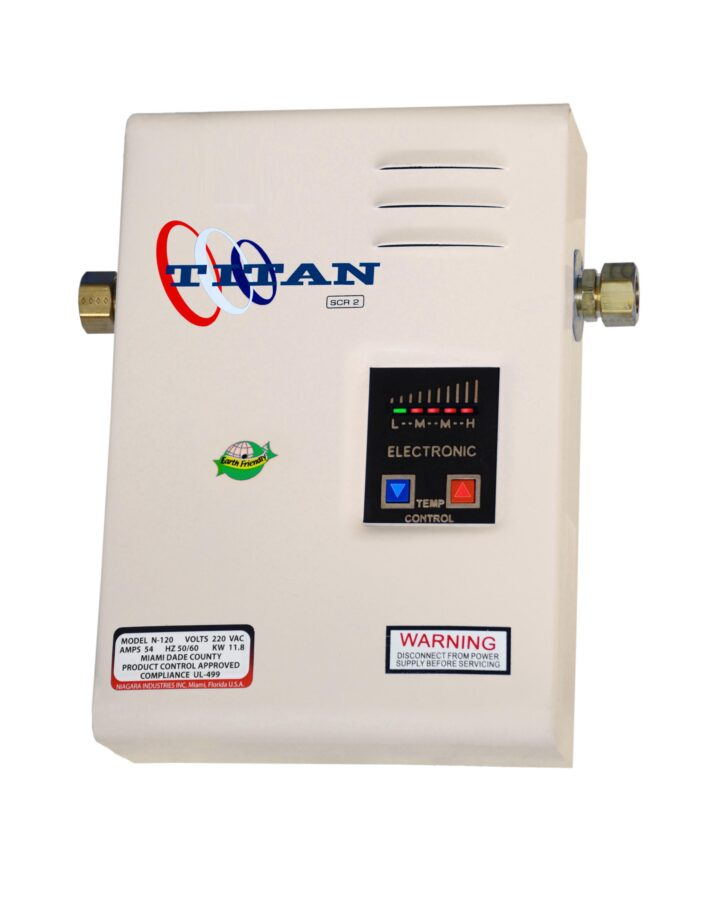 titan-scr2 electric tankless water heater | md pumps