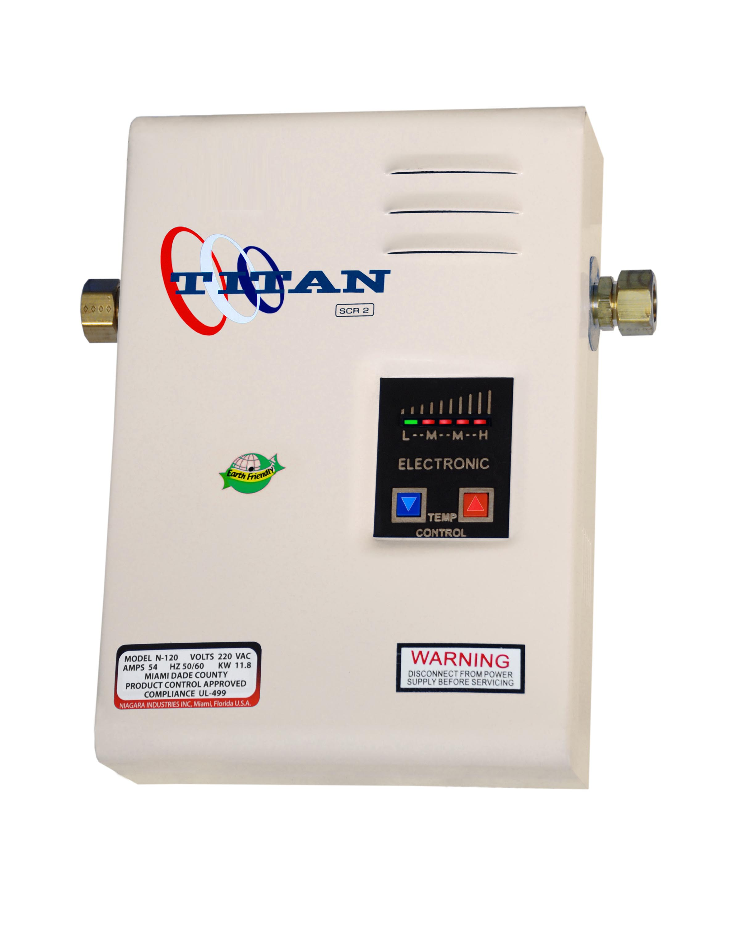 Titan Scr2 Electric Tankless Water Heater