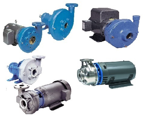 Goulds End Suction Centrifugal Pumps